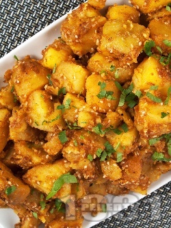Картофки със сусам - снимка на рецептата